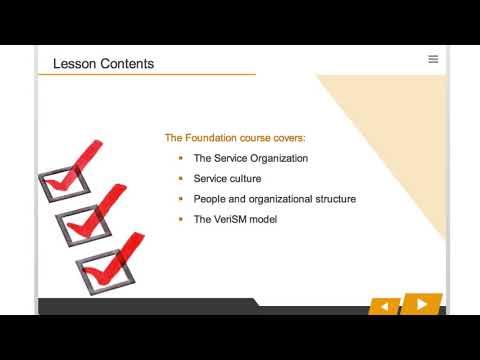 VeriSM Foundation Course Introduction