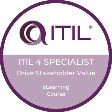 ITIL 4 Drive Stakeholder Value eLearning Logo